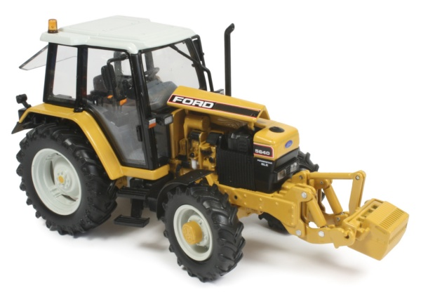 Ford 5640 Tractor Parts : Miniature construction world ford quot industrial tractors