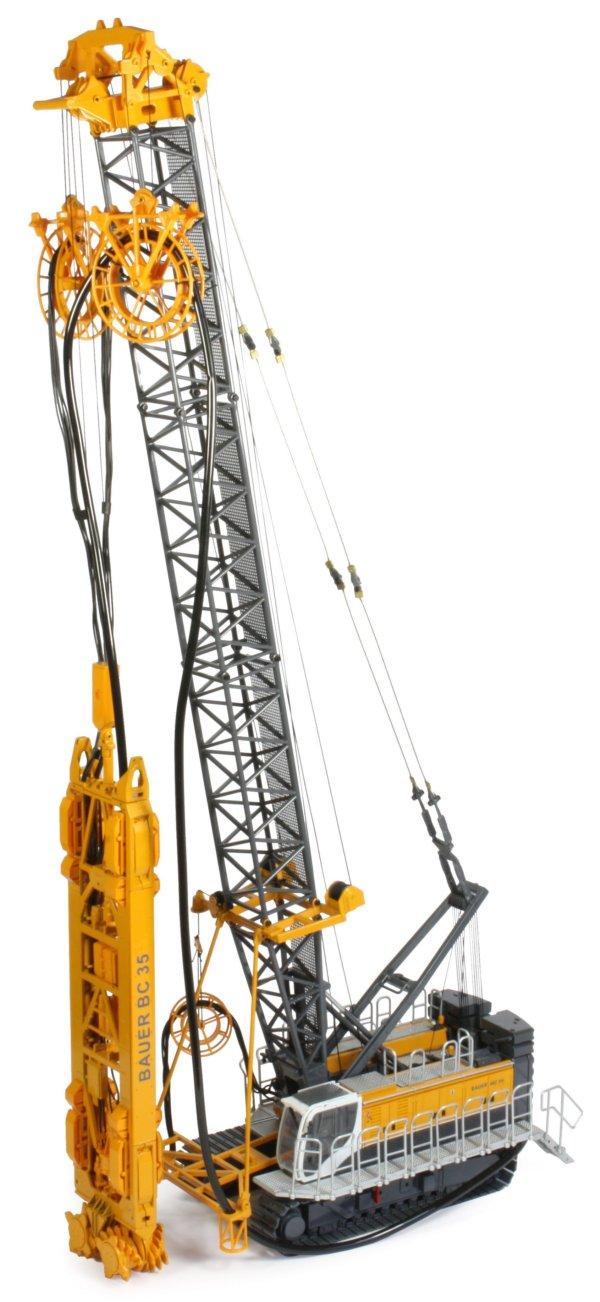 Miniature Construction World Bauer Mc96 Duty Cycle Crane