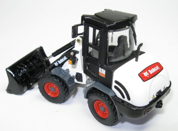 Miniature Construction World Bobcat Al350 Wheeled Loader
