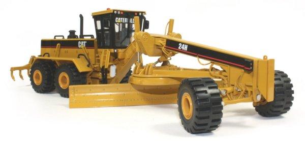 Miniature construction world caterpillar 24h grader for Cat 24h motor grader