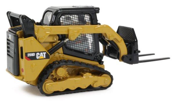 Miniature Construction World - Caterpillar 259D Multi