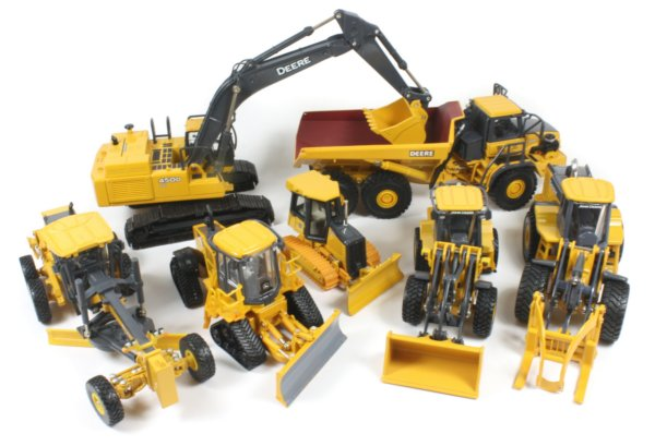 Toy Construction Equipment : John deere construction toys lookup beforebuying
