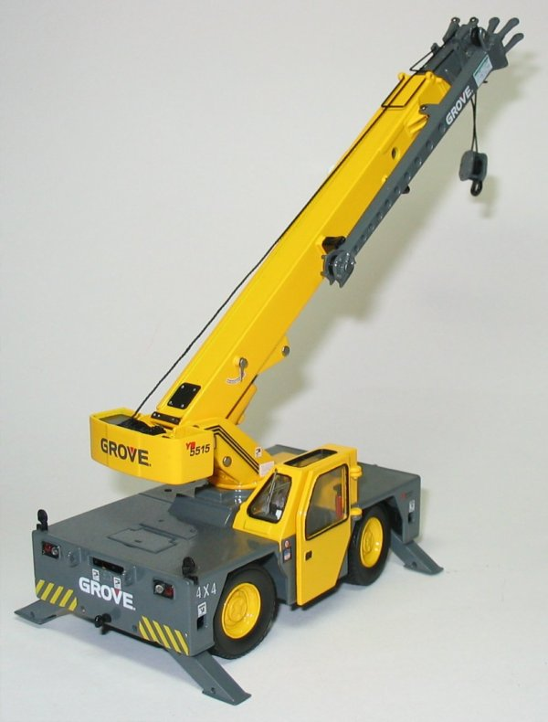 Yard Boss Industrial Cranes : Miniature construction world grove yb yard boss crane
