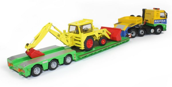 Miniature Construction World - Volvo FH tractor with 3-axle
