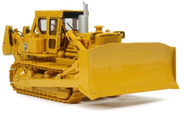how to start and run a buldozer d-9 catapilar