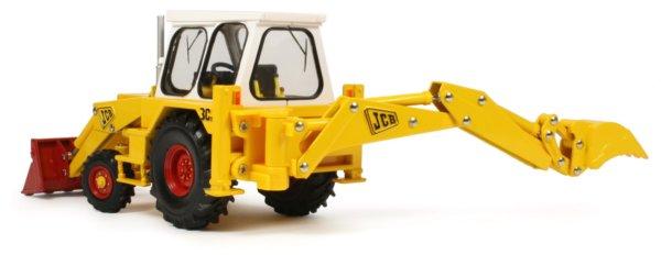 Miniature Construction World - JCB 3C Mk3 Backhoe Loader