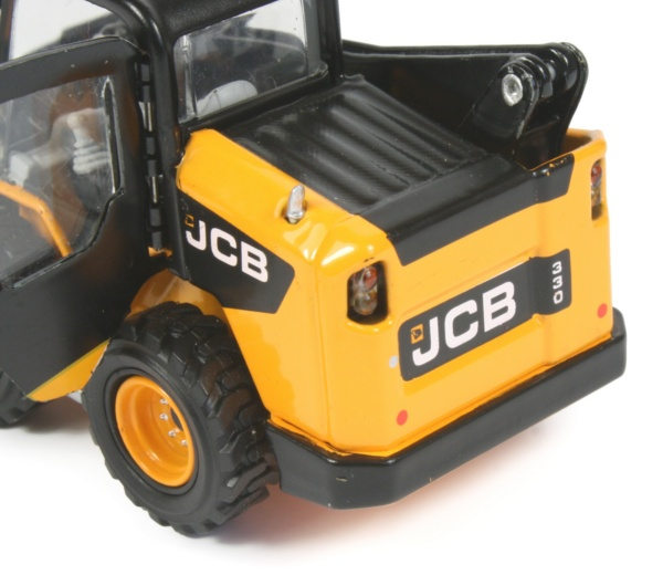 Miniature Construction World Jcb 330 Skid Steer Loader