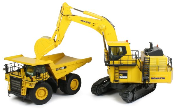 Miniature Construction World Komatsu Hd785 7 Off Road