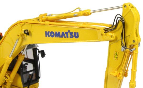 Escavadeira de Esteiras Komatsu PC210LC-10