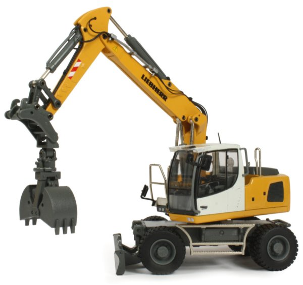 miniature construction world liebherr a920 wheeled excavator. Black Bedroom Furniture Sets. Home Design Ideas
