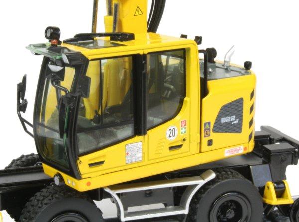 Miniature Construction World Liebherr A922 Rail Wheeled
