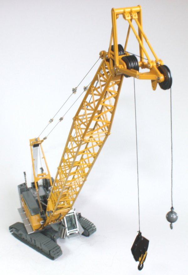 Miniature Construction World Liebherr Hs855hd Crawler Crane