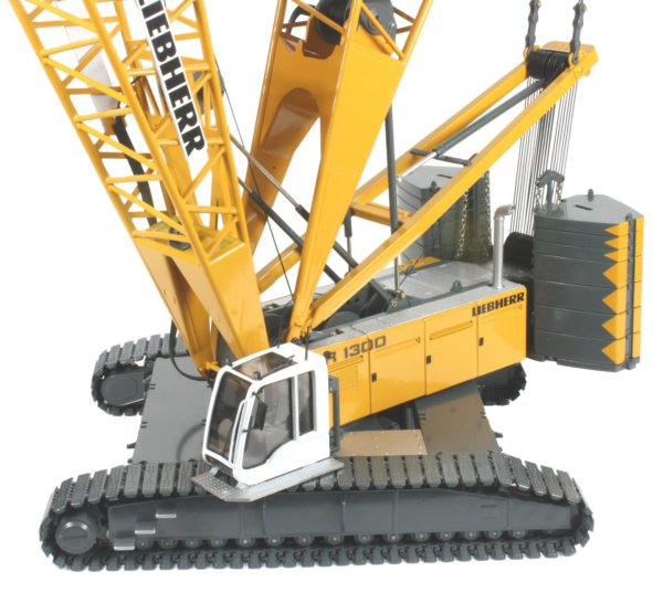 Miniature Construction World - Liebherr LR1300 Crawler Crane