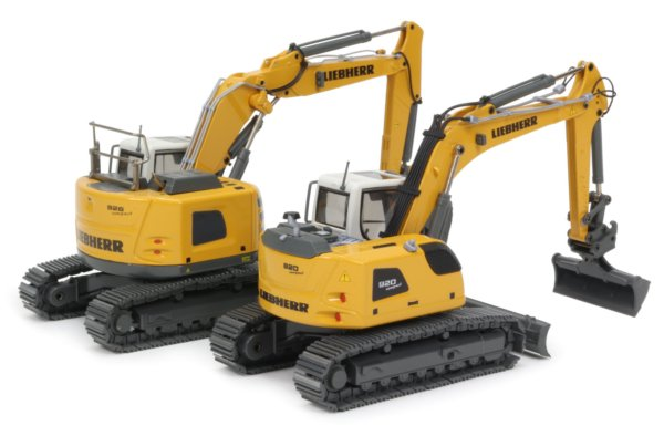 Miniature Construction World Liebherr R920 Compact