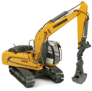 miniature construction world liebherr r922 tracked excavator. Black Bedroom Furniture Sets. Home Design Ideas