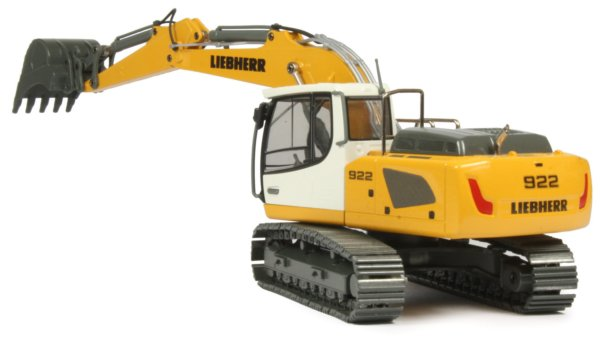 Miniature Construction World Liebherr R922 Tracked Excavator