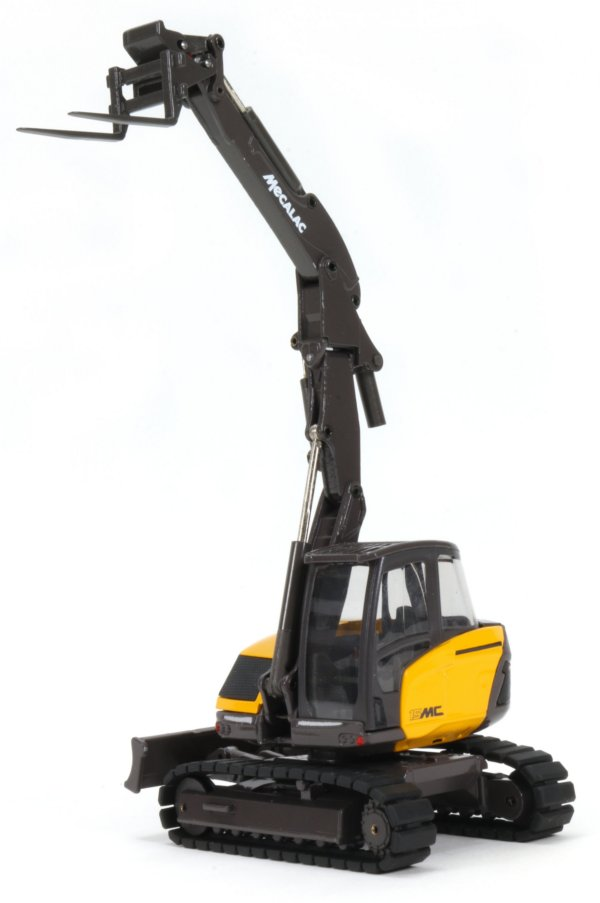 Miniature Construction World Mecalac 15mwr Wheeled Excavator