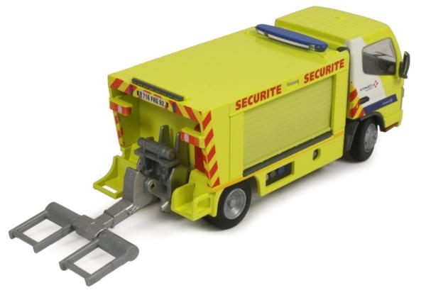 miniature construction world cofiroute duplex a86 tunnel safety car. Black Bedroom Furniture Sets. Home Design Ideas