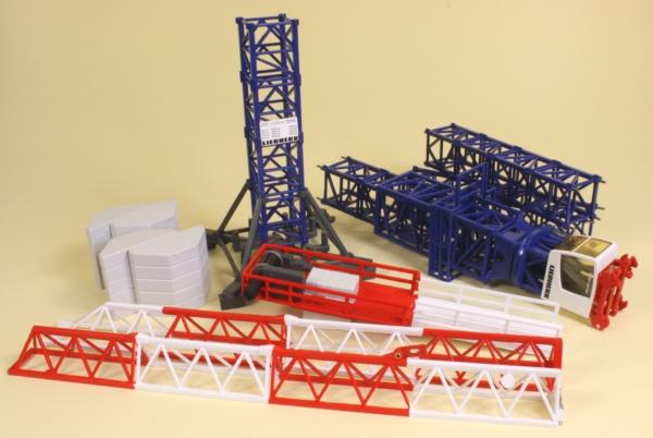 Miniature Construction World Liebherr 112 Ec H Tower Crane