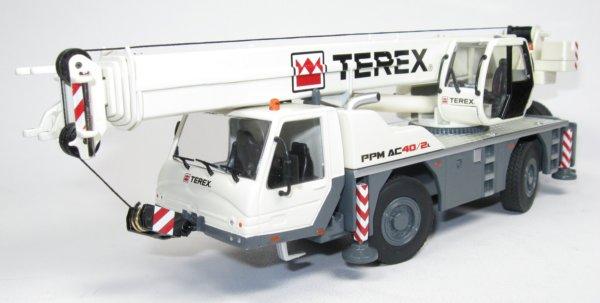 Miniature Construction World - Terex Demag AC100-4 Mobile Crane