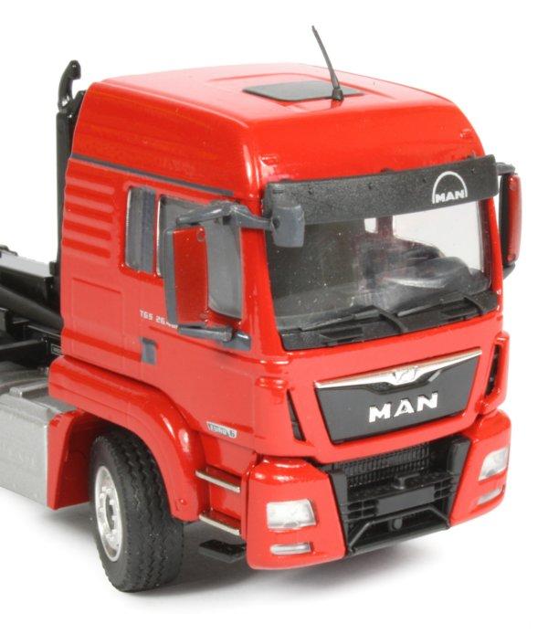 Miniature Construction World Man Tgs Xl 3 Axle Truck