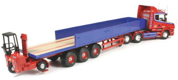 Drop Axle Weights For Tractor Trailers : Miniature construction world scania t tractor with