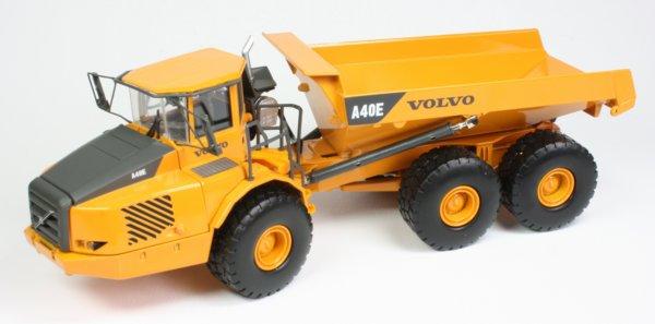 Miniature Construction World - Volvo A40E Articulated ...