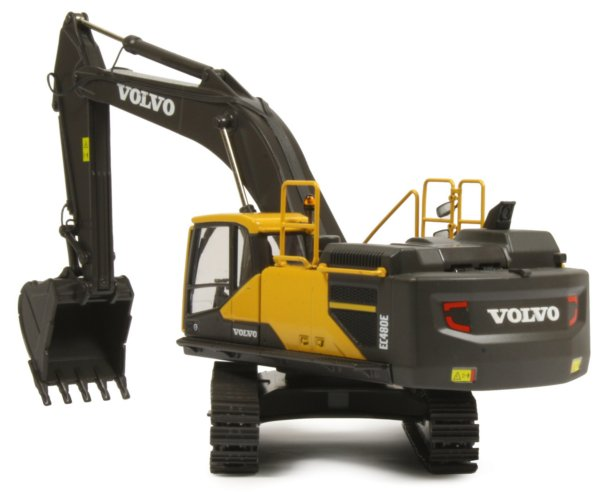 Miniature Construction World Volvo Ec480e Tracked Excavator