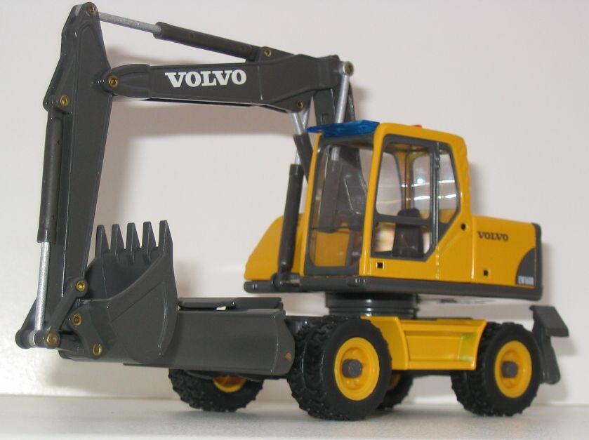 Miniature Construction World Volvo Ew160b Excavator