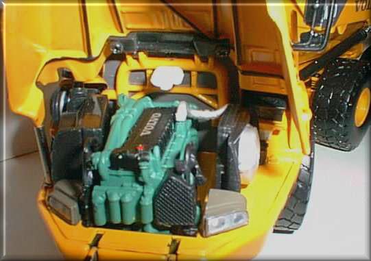 Miniature Construction World - Volvo A40D Articulated Dumptruck