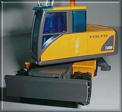 Miniature Construction World Volvo Ew160 Wheeled Excavator