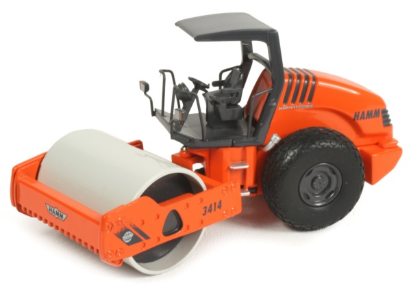 Miniature Construction World Hamm 3414 Single Drum Rollers