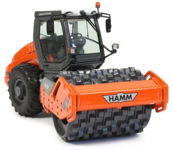 Miniature Construction World Hamm H13i Single Drum Compactor